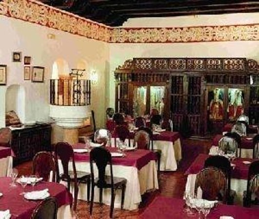Monasterio de San Francisco: Restaurant