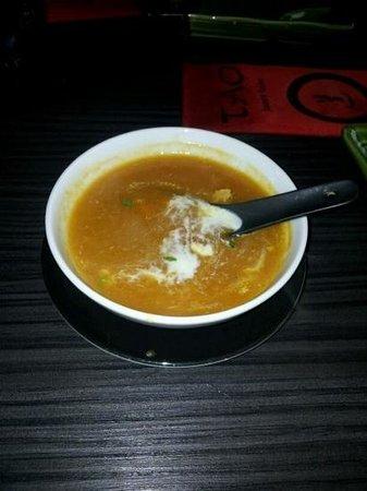 Restaurant TAO: kreeftsoep
