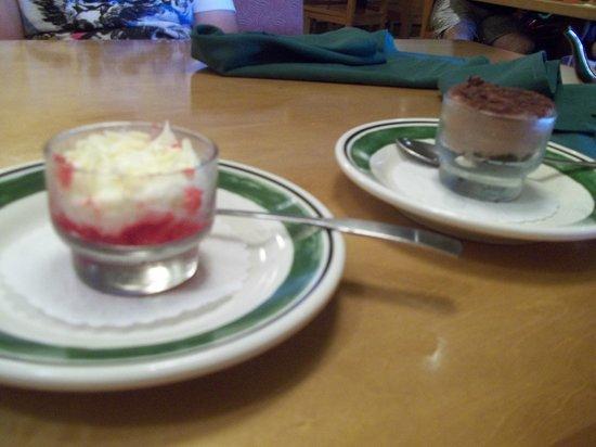 Olive Garden: dessert