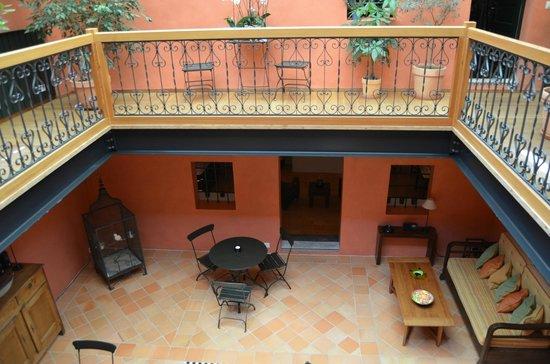 Jardin de Kabir: View from upstairs