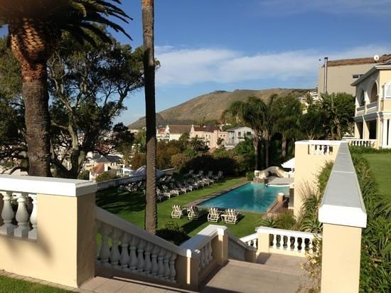 Ellerman House: View of the pool