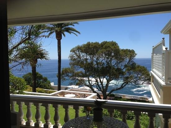 Ellerman House: view from our room (room 7 if memory serves)