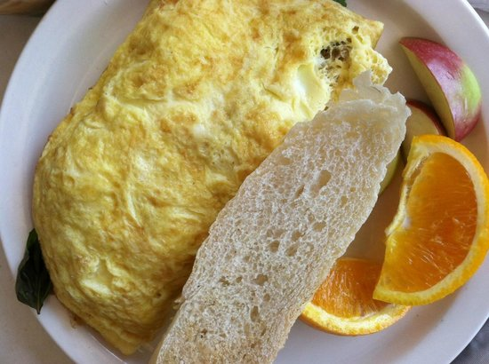 Bruce & Son: Incredibly stuffed omelette. Yum!