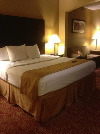 La Quinta Inn & Suites Columbus West - Hilliard: Room with king size bed
