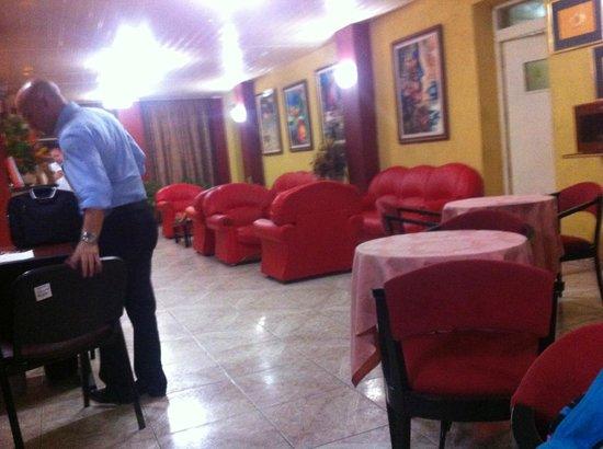 Sercotel Hotel Caribbean: reception area