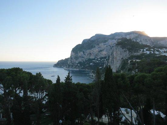 Villa Brunella: vista desde el hotel
