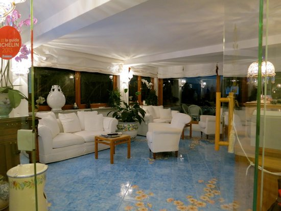 Villa Brunella: recepcion