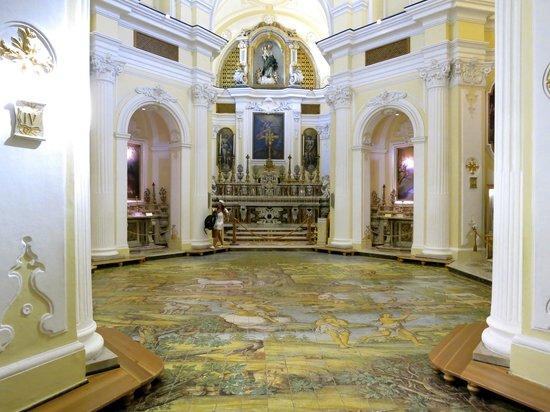 Villa Brunella: iglesia en Anacapri