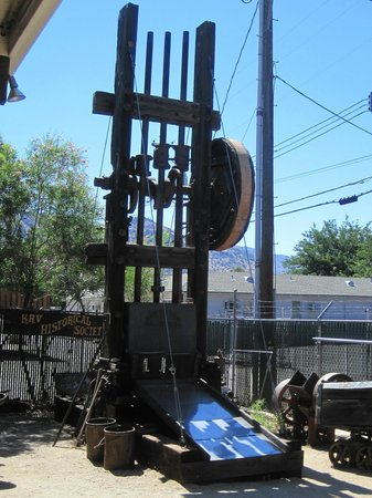 The Kern Valley Museum : Stamp Mill