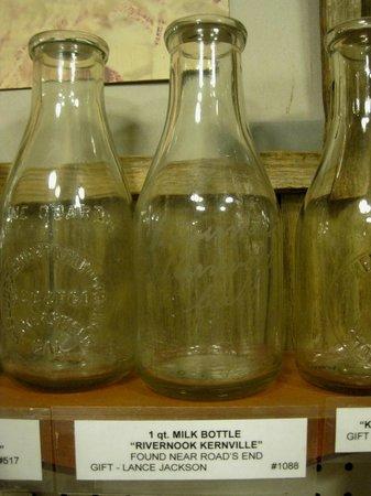 The Kern Valley Museum : Old Milk Bottles