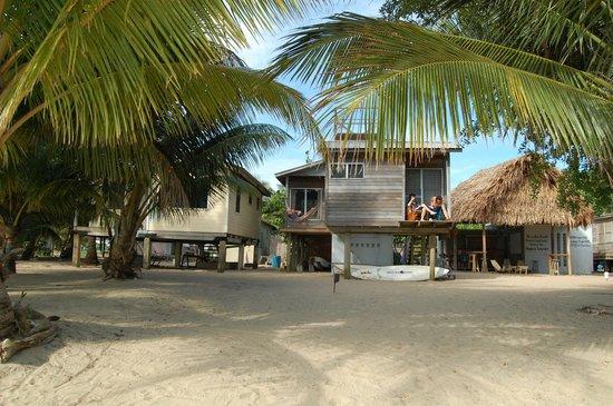 Windschief Cabanas: outside cabana