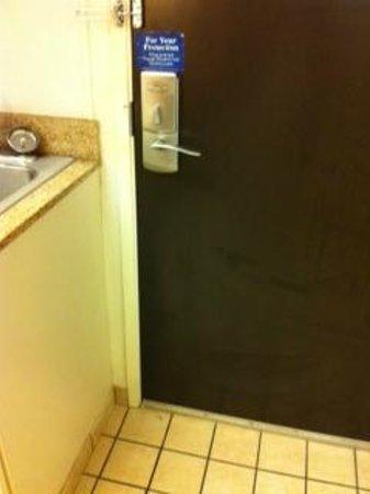 Motel 6 Biloxi Beach: room door