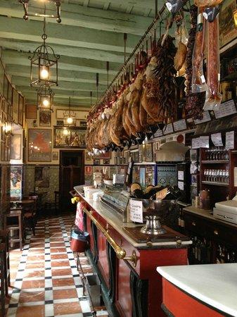 Cafe-Bar las Teresas: Vue du Bar