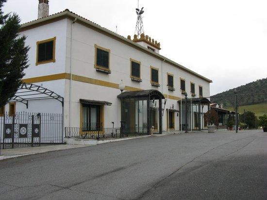 Las Atalayas: Frente del hotel