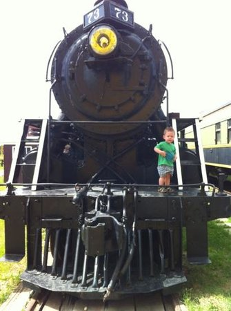 The Alberta Railway Museum: loving the trains