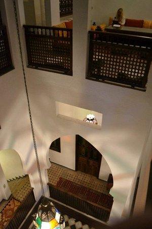 Riad Arous Chamel : salon on 2nd floor