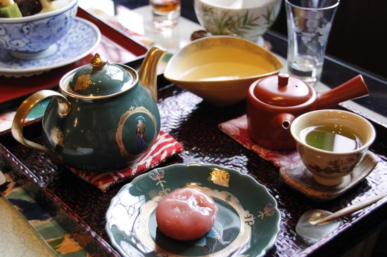 Sabo Kyuchayatei: 精緻的日式茶點