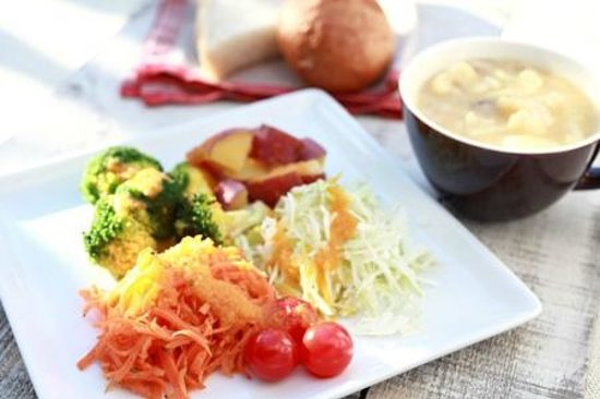 Love Pacific Cafe : vegetable set(好きなだけベジタブルセット)