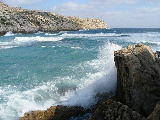 Grupotel Molins: Rough sea