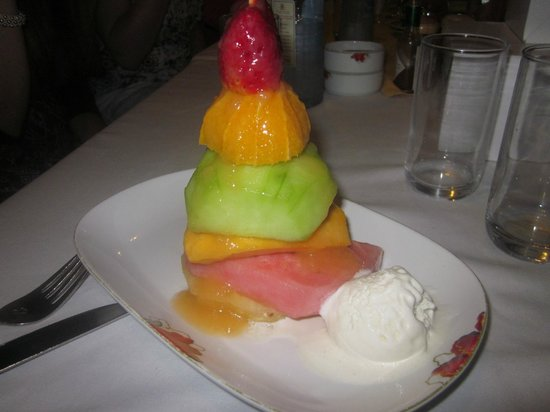 Sarova Panafric: Fantastic dessert option!
