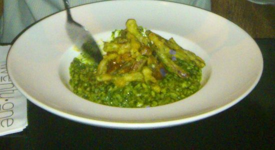Twenty One - Tables + Terrace: Thai green risotto