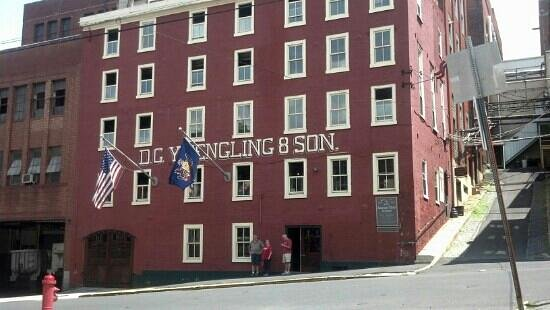 D.G. Yuengling and Son Brewery : The brewery