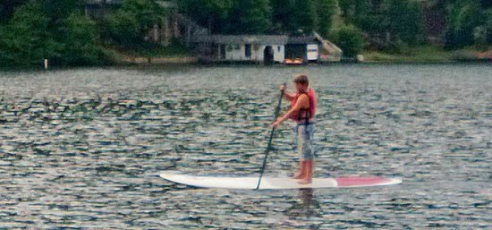 Rumbling Bald Resort on Lake Lure : Lake activities were great