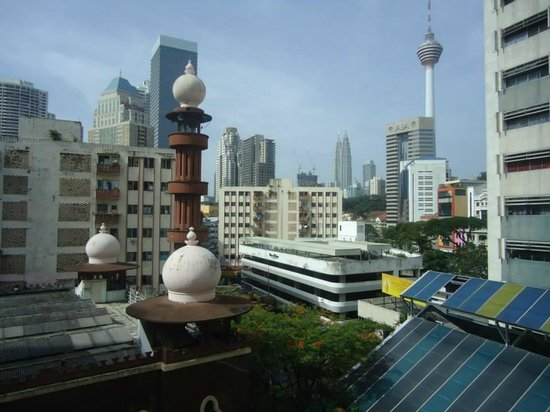 Citin Hotel Masjid Jamek : View from 5th floor room