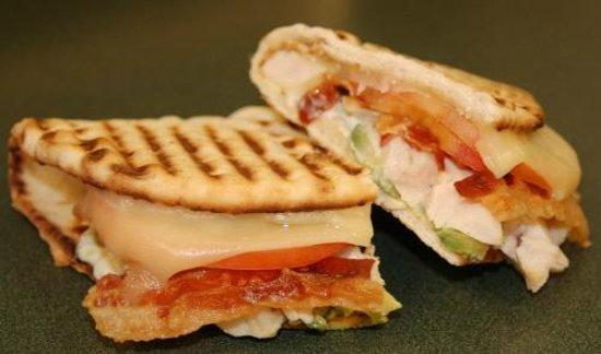 Tim's Bistro: Chicken Bacon Club Panini