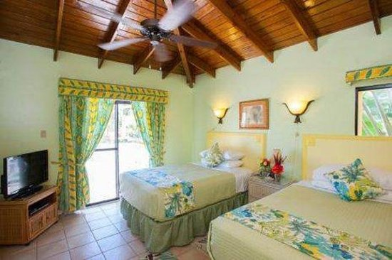 The Mount Nevis Hotel : Double Bedded Guestroom