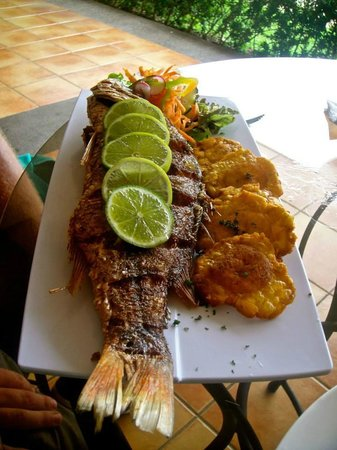 Picante Restaurant and Bar : Whole Red Snapper