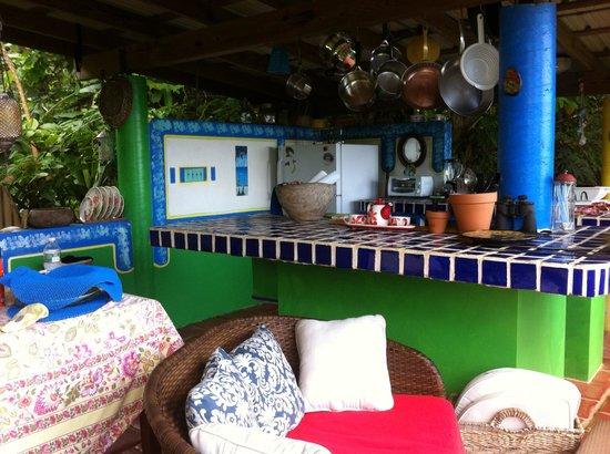 Carole's Rainforest Villas : Kitchen