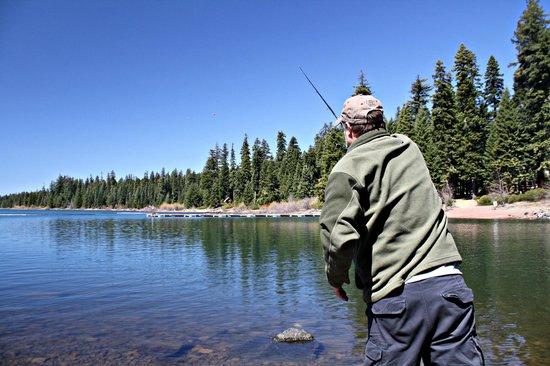 Fish lake resort eagle point or campground reviews for Fish lake oregon