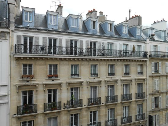 Balcony picture of hotel elysees opera paris tripadvisor for Paris hotel address
