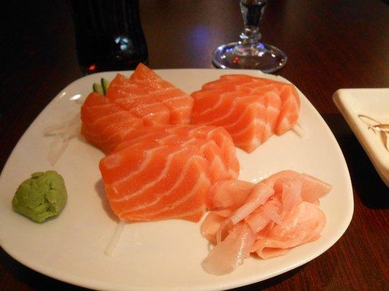 Hôtel Elysées Opéra: Sashimi from the Jap restaurant