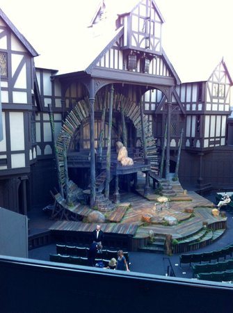Oregon Shakespeare Festival: Row S seat 111 just $25