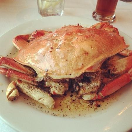 Crustacean: Delicious roast crab