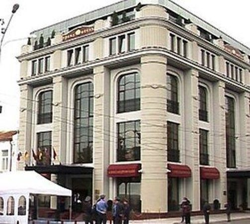 Grand Hotel Aleksandrovski: Fasad