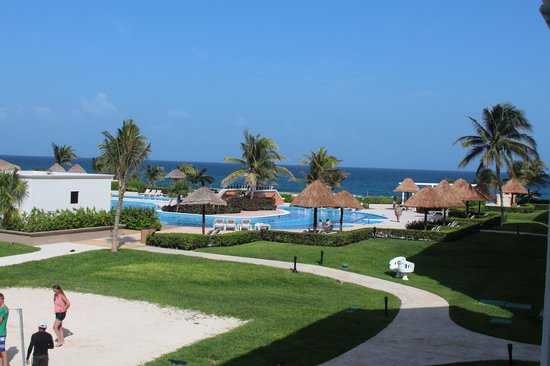 Hard Rock Hotel Riviera Maya: View from our rooms.