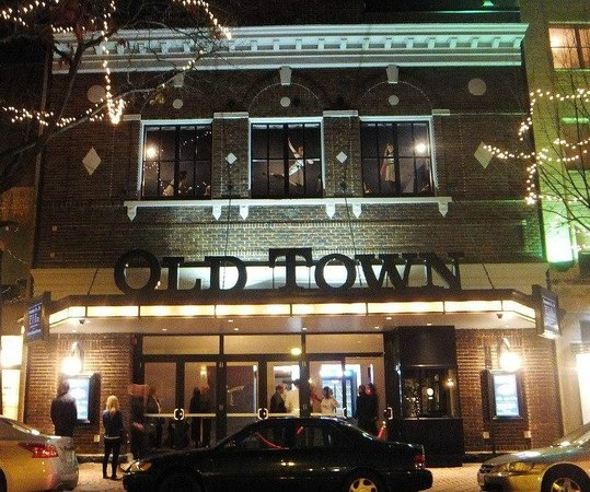 Old Town Theater: Opened in 1914 renovated in 212