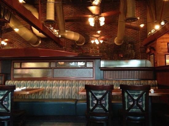 McGrath's Fish House: the interior