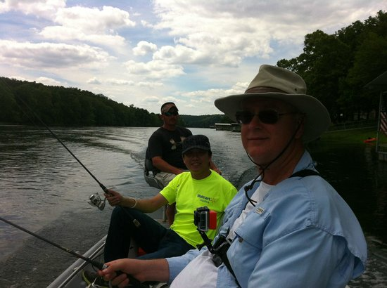 Cotter Trout Dock Guided Trout Fishing Tours: On the way