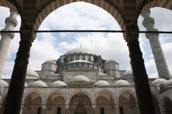 Süleymaniye-Moschee: ingresso
