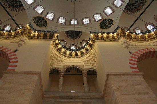 Süleymaniye-Moschee: interno volumi
