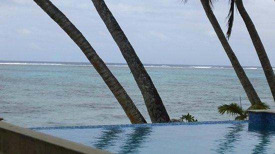 Little Polynesian Restaurant: View from the restaurant