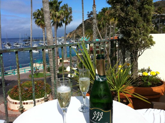 Portofino Hotel: View from sun deck