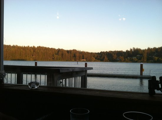 View from Kelly's cantina window seat