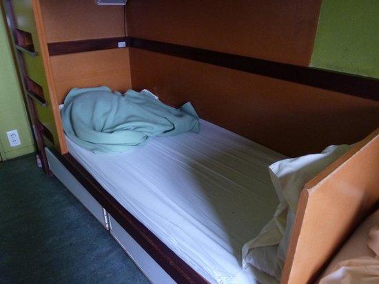 Auberge de Jeunesse de Vieux Lyon : ベッド