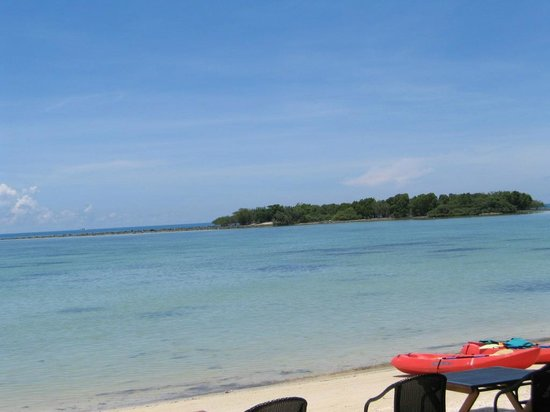 Blue Lagoon Hotel: Reef island - straight out from the hotel beach: pic 3 of 4