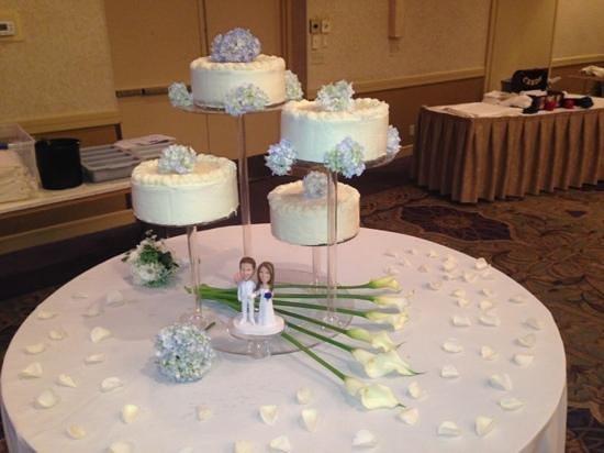 Conestoga Restaurant: Red Velvet Cheese Cake. Wedding Cake